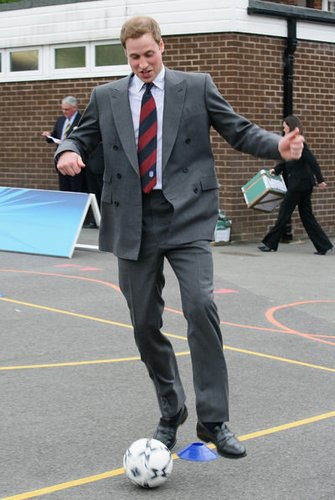 Prinz William wird ein mal der König von England sein