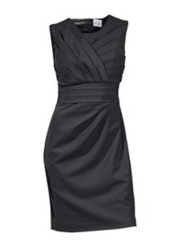Das figurbetonte Kleid verleiht Dir stilvollen Sex-Appeal.
