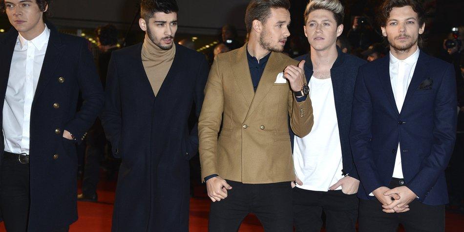 One Direction werden selten von Fans umlagert