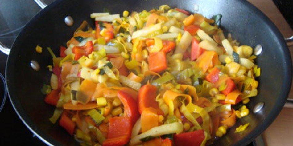 Gemüsepfpanne