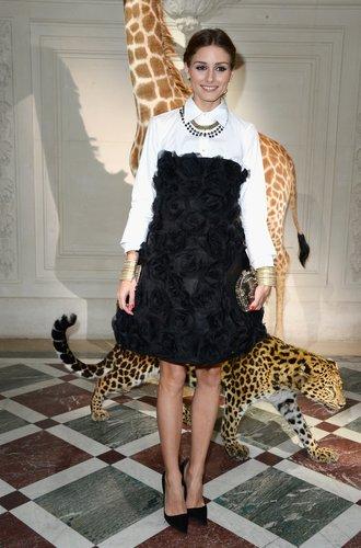 Olivia Palermo besucht die Haute Couture-Schau von Valentino
