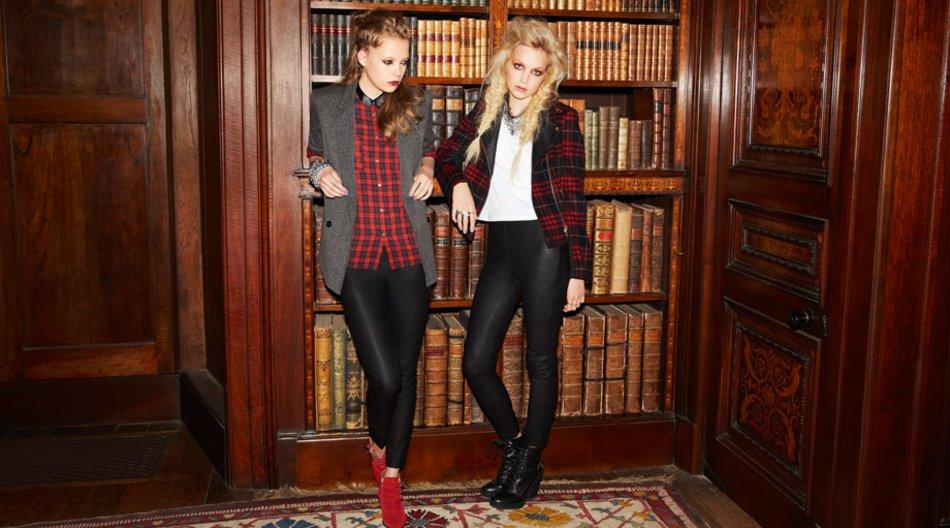Models in Leder