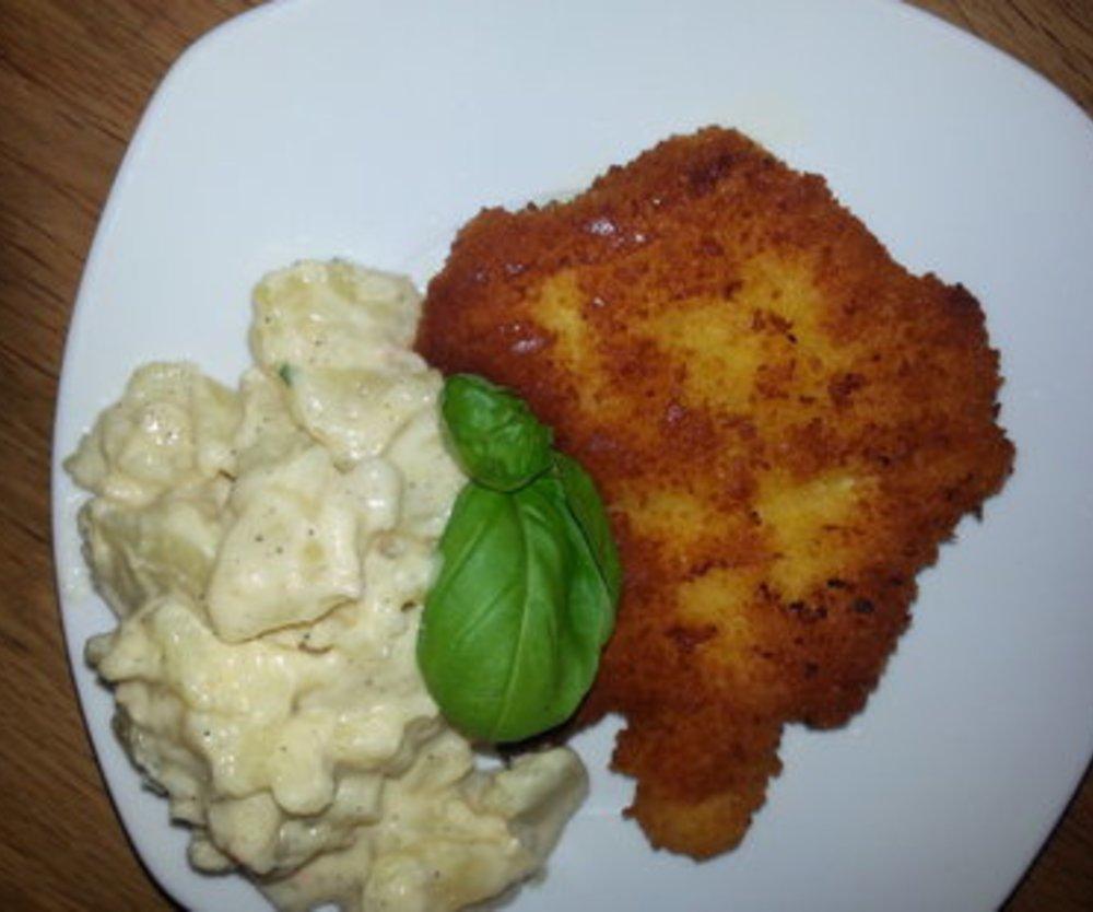 Michaels Kartoffelsalat mit selbstgemachter Mayonnaise