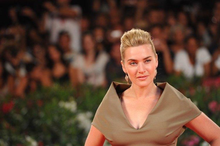 Kate Winslet in Grün