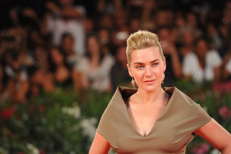 Kate Winslet in Grün