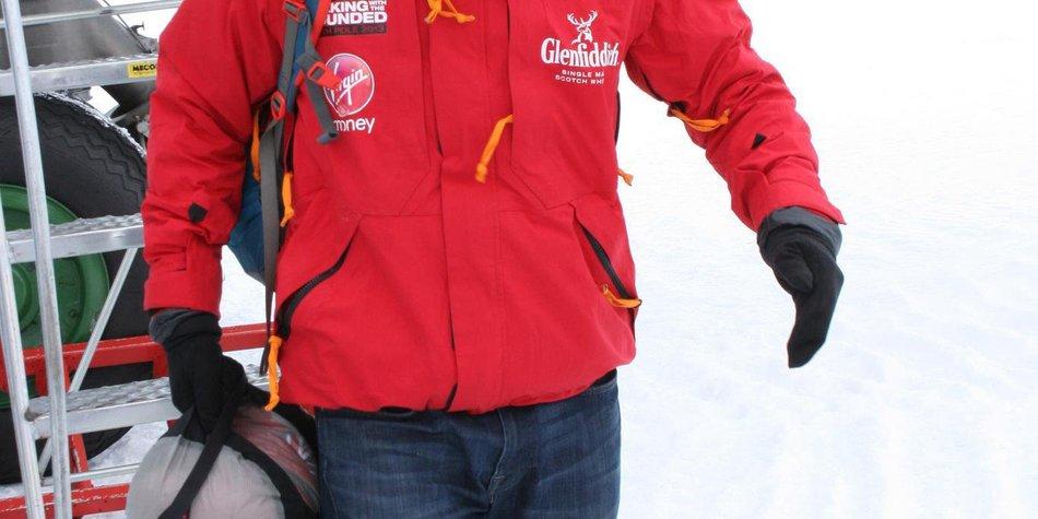 Prinz Harry ist in der Antarktis gelandet