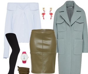 Outfit des Tages: Business-Look mit Farbtupfer