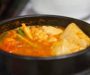 Spanische Fischsuppe