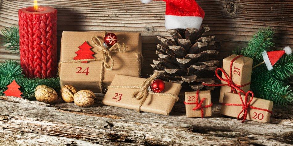 sch ne ideen adventskalender selber machen. Black Bedroom Furniture Sets. Home Design Ideas