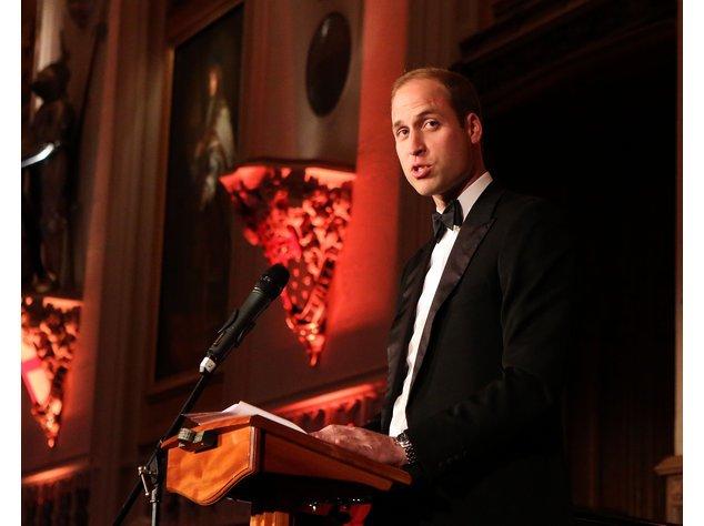 Prinz William setzt sich für den Naturschutz ein