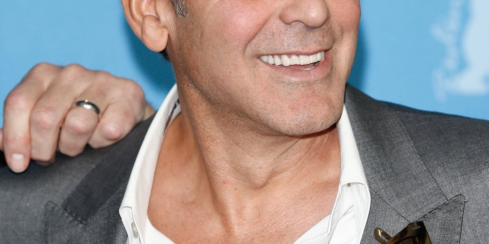 George Clooney: Ist er etwa verlobt?