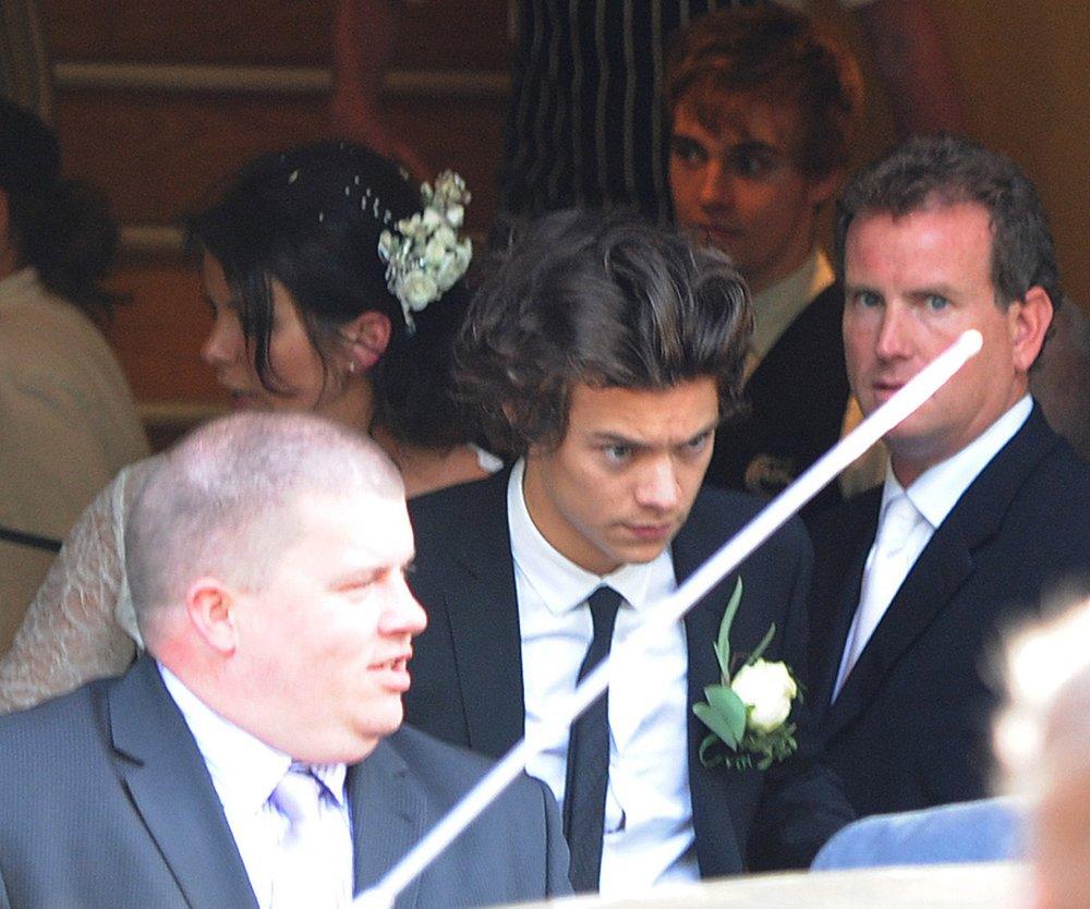 Harry Styles war Mamas Trauzeuge