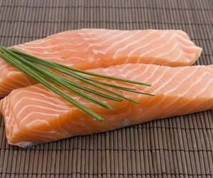Lachs in Honig