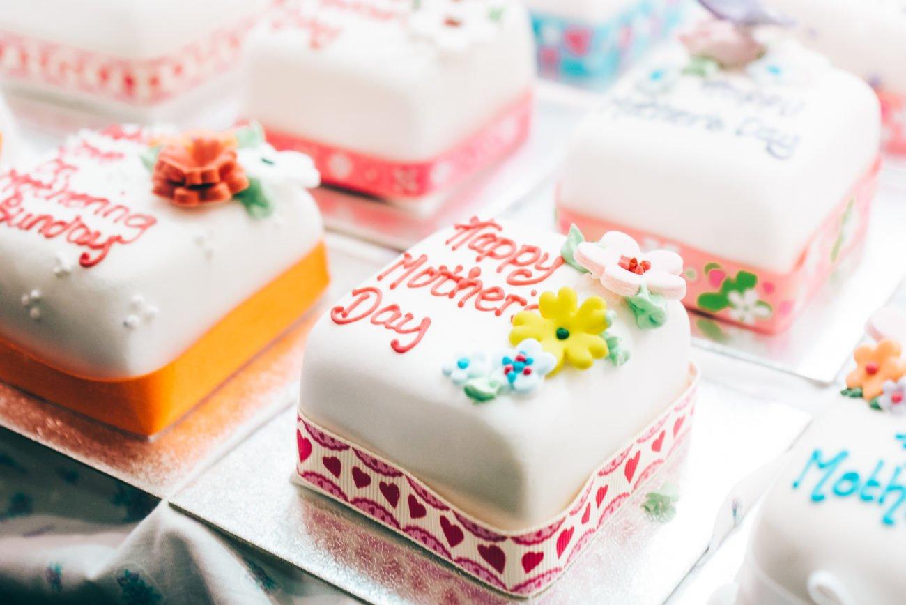 Muttertag Kuchen Fondant