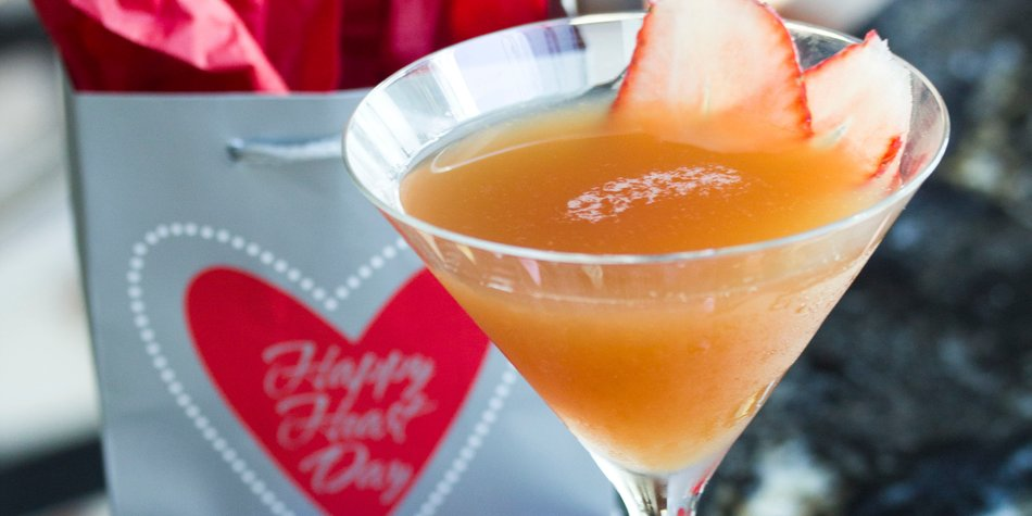 Valentinstag Cocktails