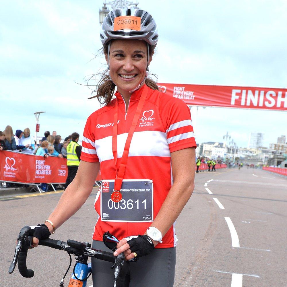 Pippa Middleton ist ihren ersten Marathon gelaufen