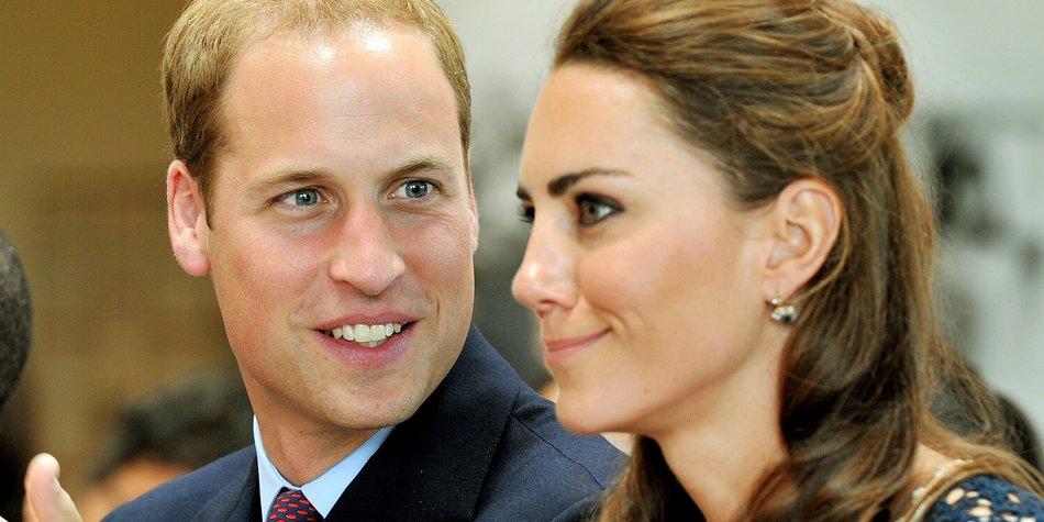 Prinz William und Kate verlassen USA