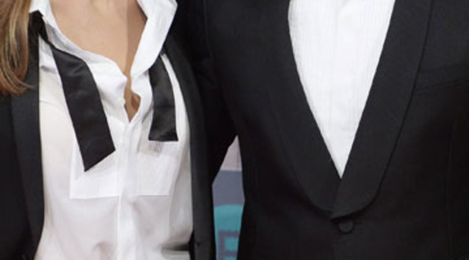 Brangelina im Partnerlook bei den BAFTAs.
