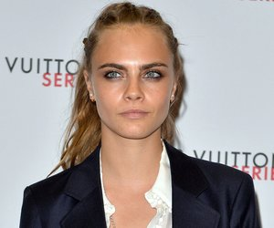 LONDON, ENGLAND - SEPTEMBER 20: Cara Delevingne attends the Louis Vuitton Series 3 VIP Launch on September 20, 2015 in London, England. (Photo by Anthony Harvey/Getty Images)