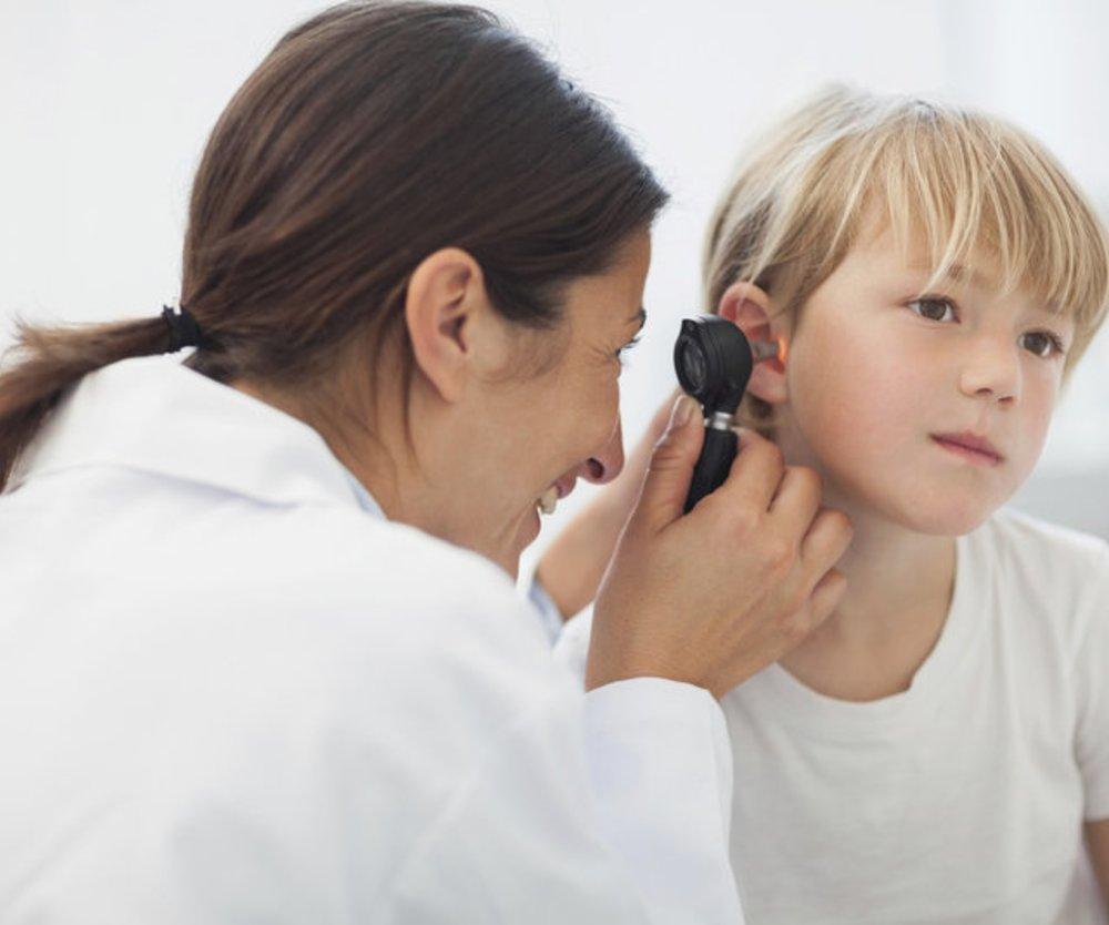 Ohrenschmerzen bei Kindern