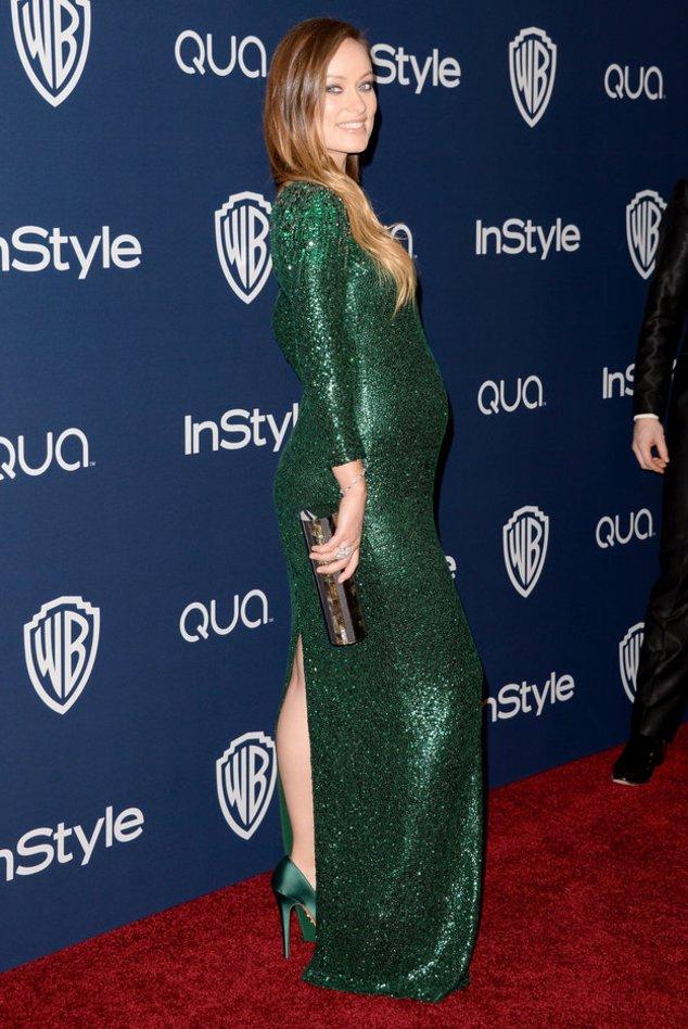Olivia Wilde bei den Golden Globes