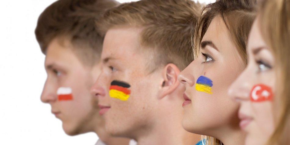 EM 2016 Make-Up selber machen