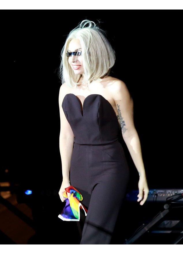 Lady Gaga bei einem Auftritt