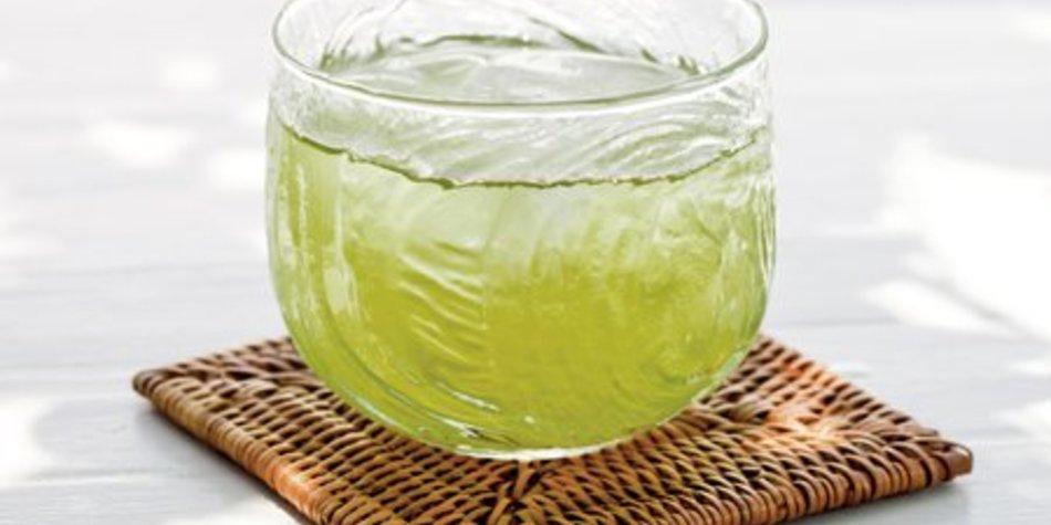 Grüner Tee Eistee