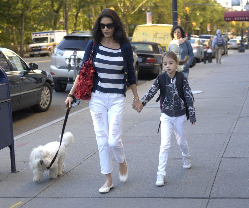 Catherine Zeta-Jones: Mutter-Tochter-Tag