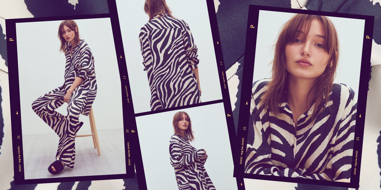 H&M Trend-Kombi Zebra
