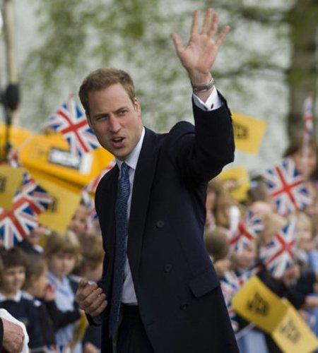 Prinz William unterstützt bedürftige Menschen