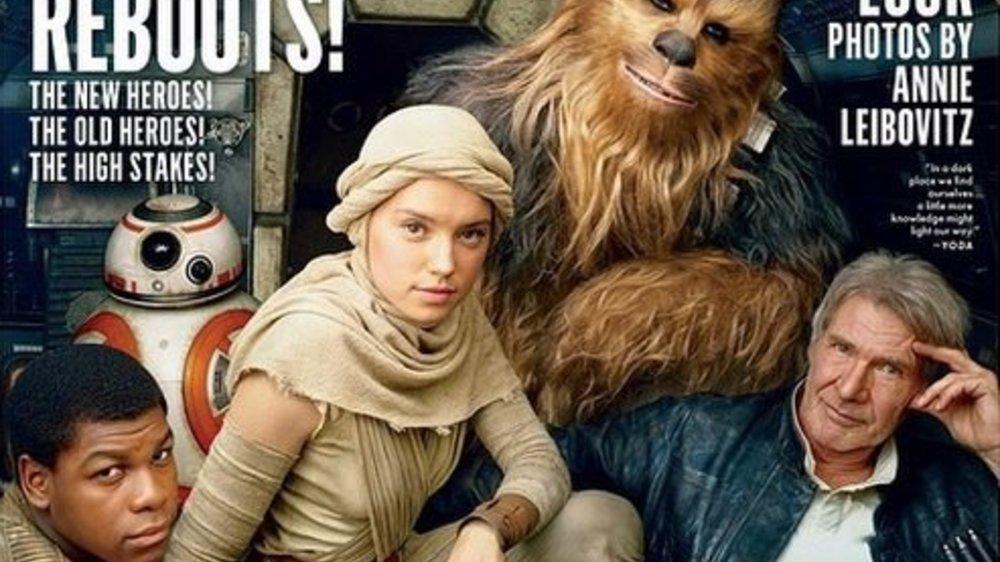"""Star Wars-Cast auf dem Cover der """"Vanity Fair"""""""