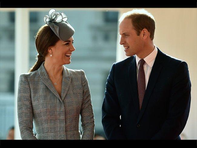 Herzogin Catherine und Prinz William