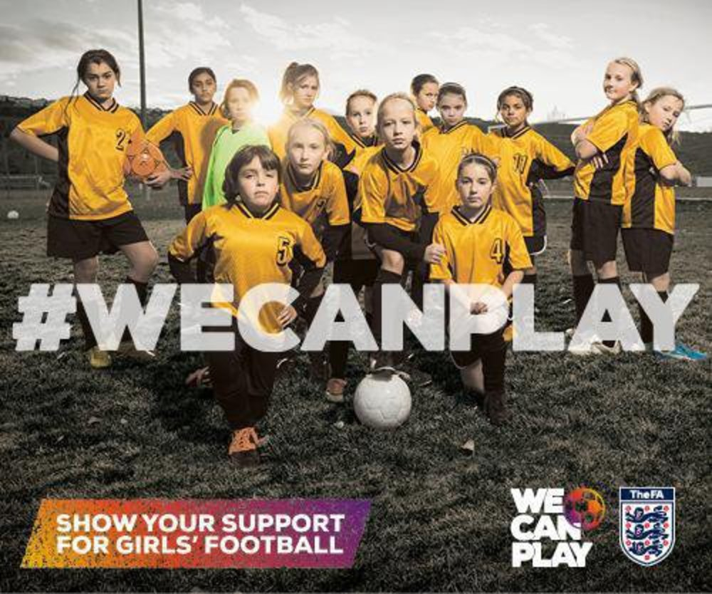 Englischer Fußballverband startet Initiative für Frauenfußball