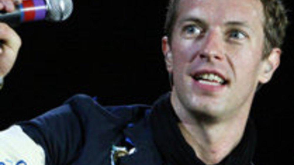 Coldplay: Heiratsantrag während eines Konzerts