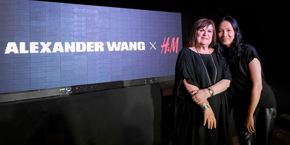 Margareta van den Bosch mit Alexander Wang
