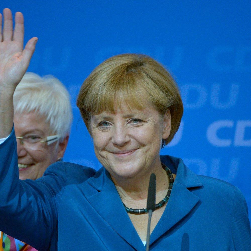 Angela Merkel gewinnt die Bundestagswahl