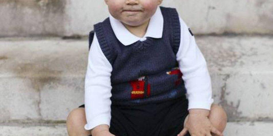 Neue offizielle Bilder von Prinz George