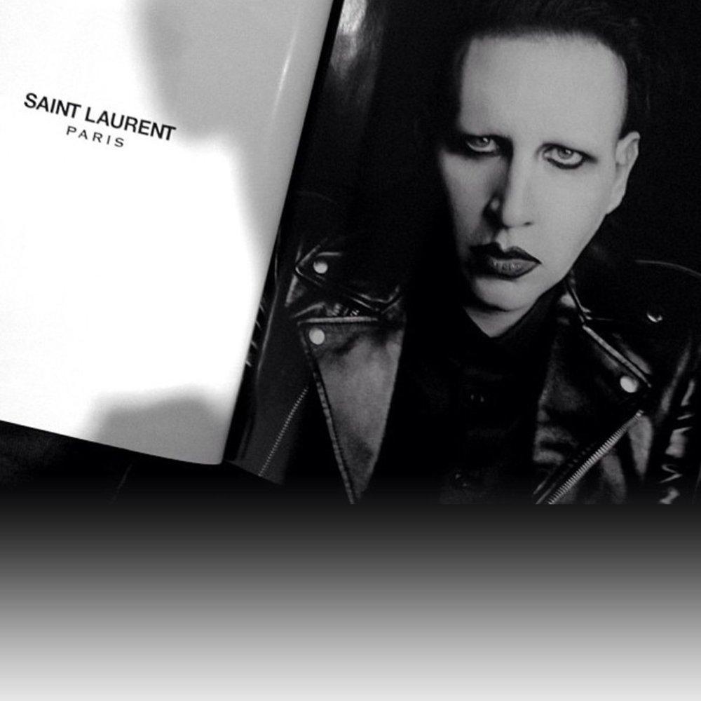 Marilyn Manson ist das neue Gesicht von Saint Laurent Paris