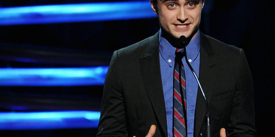 Daniel Radcliffe war nicht erste Wahl für Harry Potter