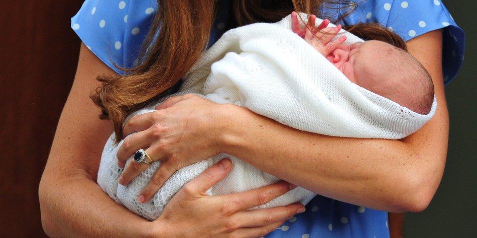 Kate Middleton und Prinz William: Das ist der Name ihres Sohnes!