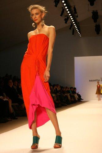 Nanette Lepore präsentiert ihre Mode auf der Fashion Week in New York