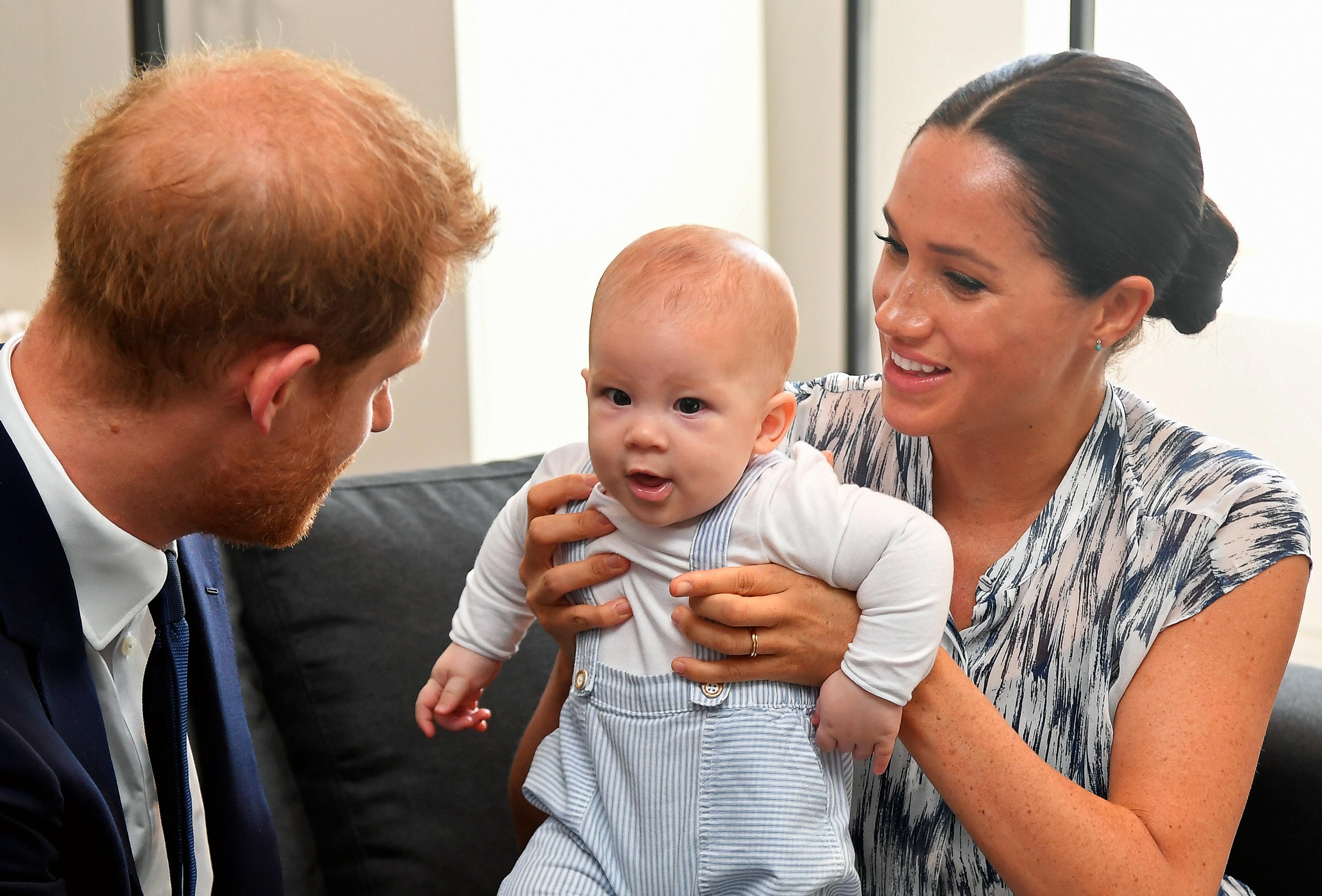 Meghan und Harry bestätigen: Baby Archie hat rote Haare!