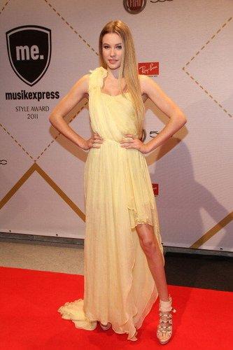 Amelie Klever auf einer Preisverleihung 2011