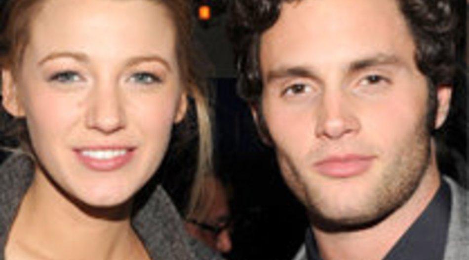 Gossip Girl Stars Blake Liveley und Penn Badgley: Versteckspiel