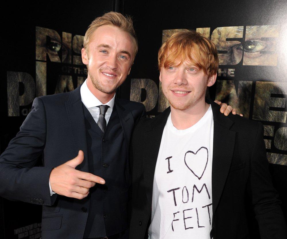 Harry Potter: Tom Felton applaudiert für Rupert Grint