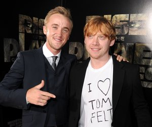Harry Potter: Tom Felton applaudiert für Rupert Grint