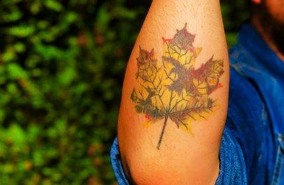 Herbst Tattoos 27 Wunderschone Motivideen Desired De