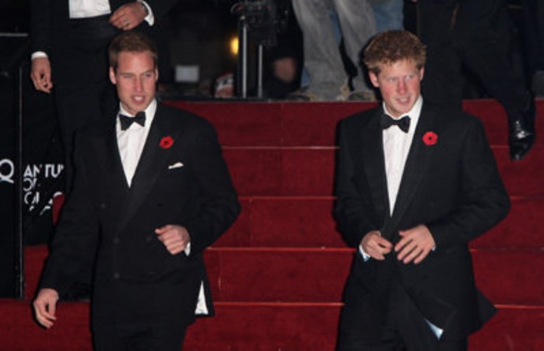 Prinz William ist der Bruder von Prinz Harry