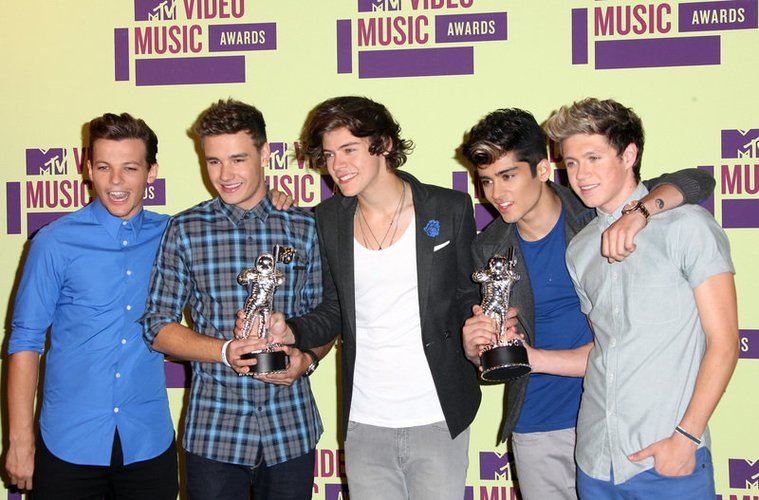 Harry Styles mit One Direction